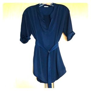 Belted Intimissimi Blouse